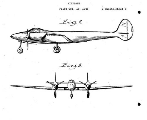 1943 twin boom piston engined fighter.JPG