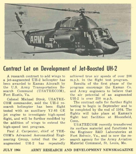 Jet-Boosted UH-2 (July 1964).jpg