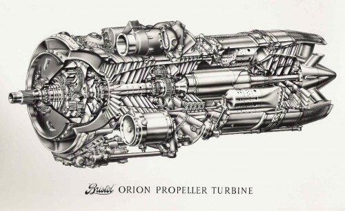 Rolls Royce Viper/ Bristol Siddeley Orpheus | Secret