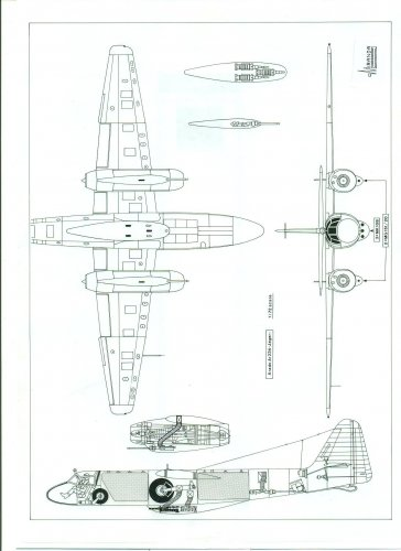 arado ar 234 projects and variants