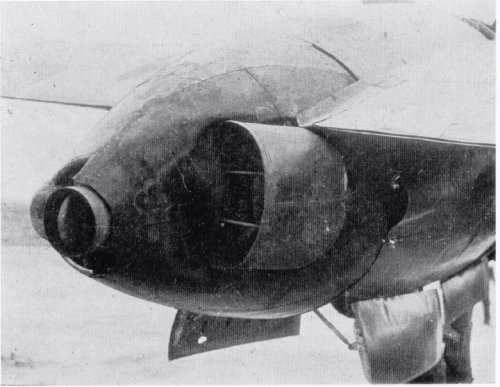 Ki-83 inter cooler outlet nozzle.jpg