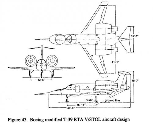 Boeing modified T-39 RTA VSTOL aircraft design.jpg