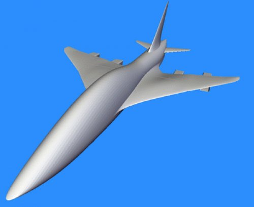 Area ruled configuration for quiet SST with reduced sonic boom.jpg