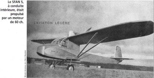 Société Française d'Aviation Nouvelle (SFAN) Aircraft