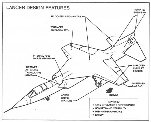 Lockheed Cl 1200 X 27 Lancer